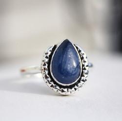 Horseshoe - Kyanite Ring