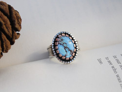 Mustang - Golden Hill Turquoise Ring