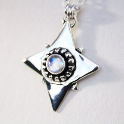 Star Moonstone Necklace