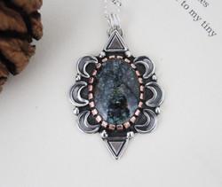 Archaic Revival - Blue Boy Turquoise Necklace