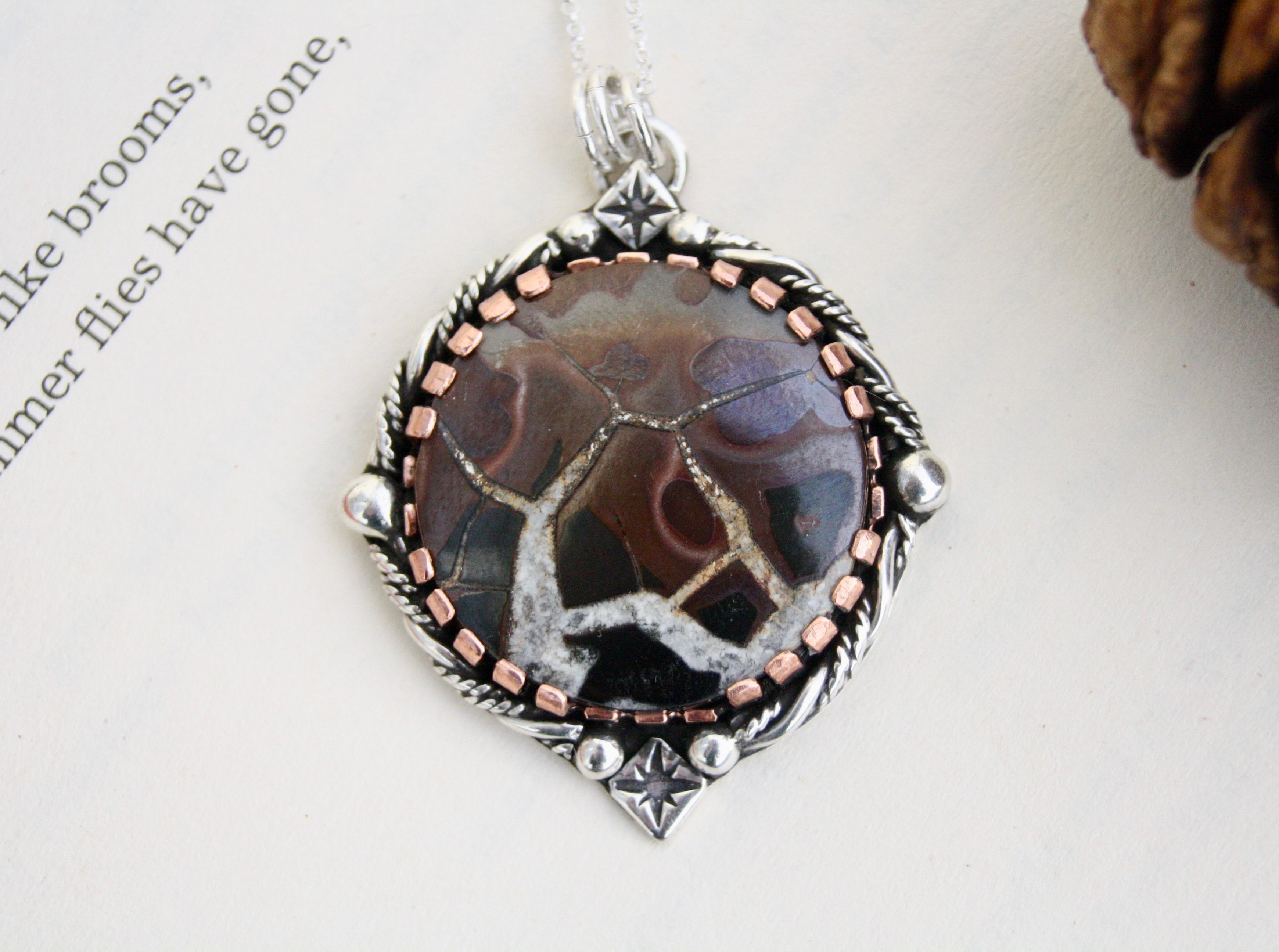 The Ancient of Days - Septarian Necklace