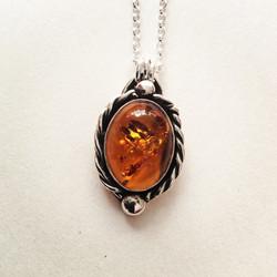 Odyssey Amber Necklace