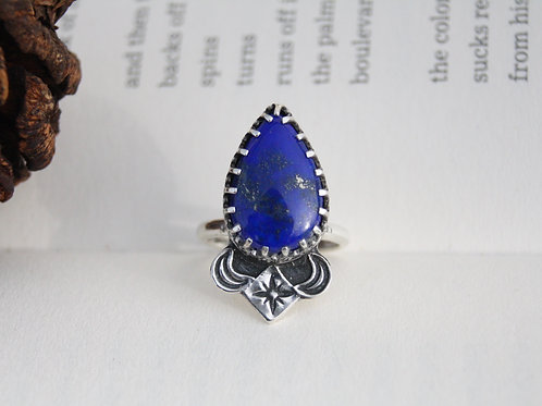 THE FEATHER OF TRUTH - RING
