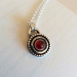 Desert Sun - Garnet Necklace