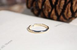 Everything Flows - 9ct Gold Ring