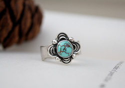No. 8 Turquoise Ring