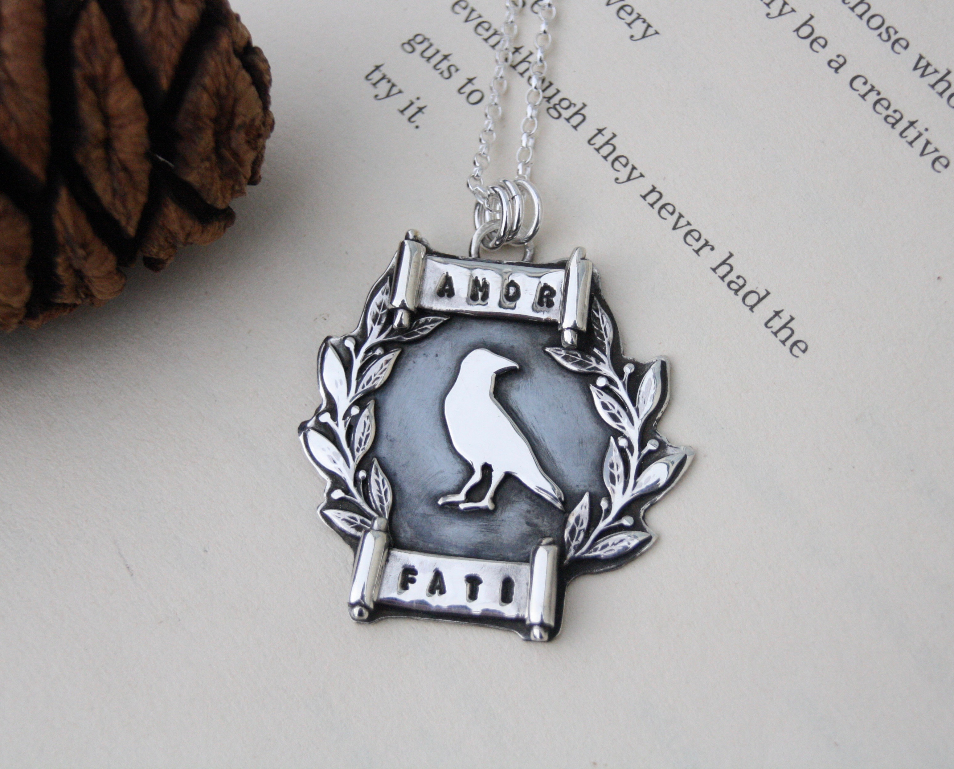 Amor Fati - Sterling Silver Necklace