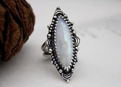 Moon - Moonstone Necklace