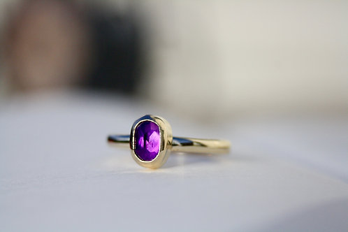 AMETHYST - 9CT GOLD