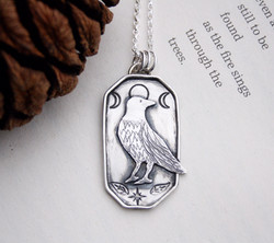 Harsh Realm Sterling Silver Necklace