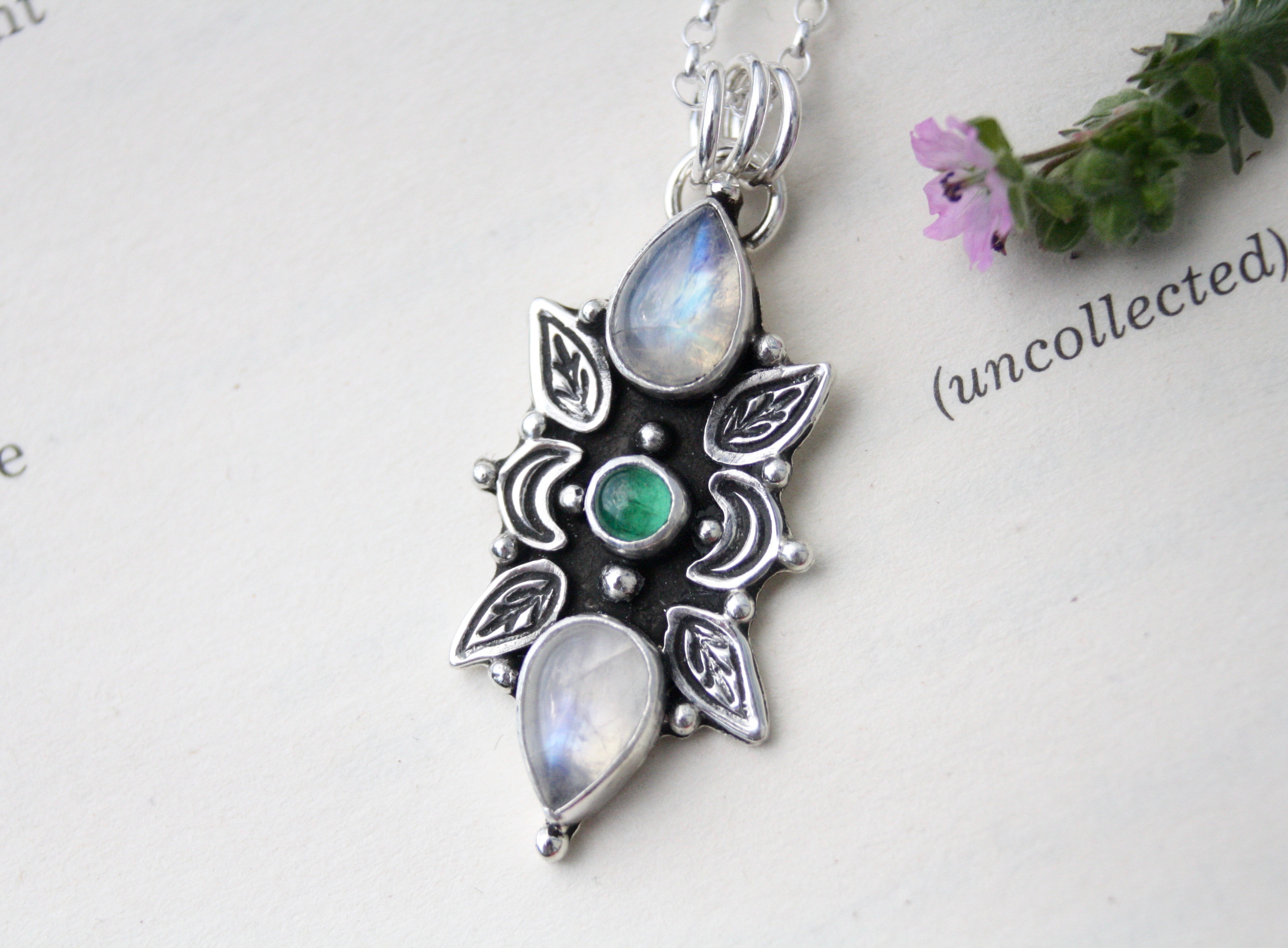 Nature Reclaims Necklace