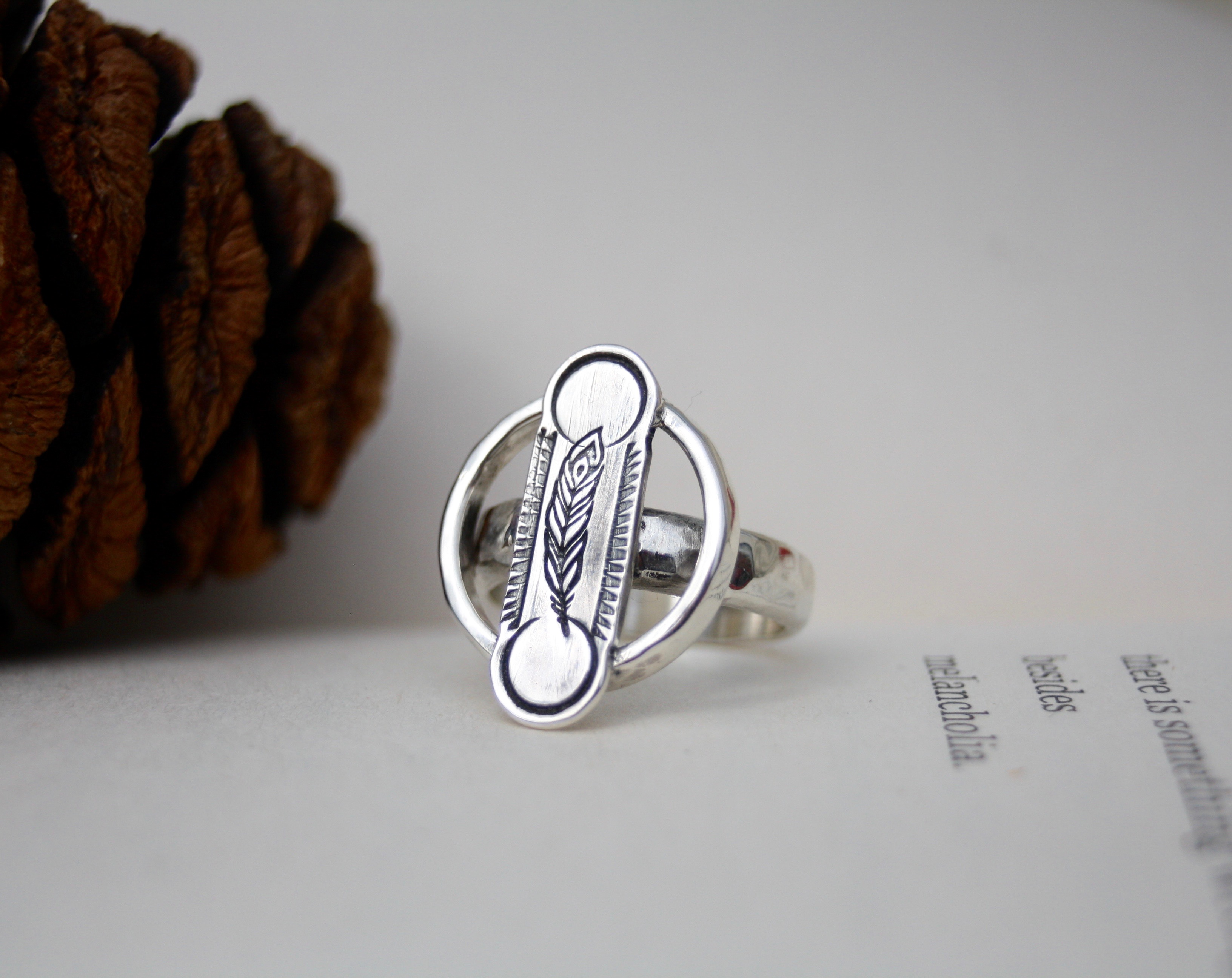 The Middle Path - Sterling Silver Ring