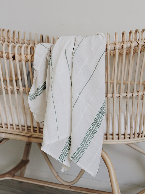 LIGHT WEIGHT BABY WRAP - FOREST