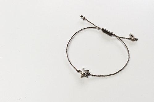 Star Bracelet - Grey