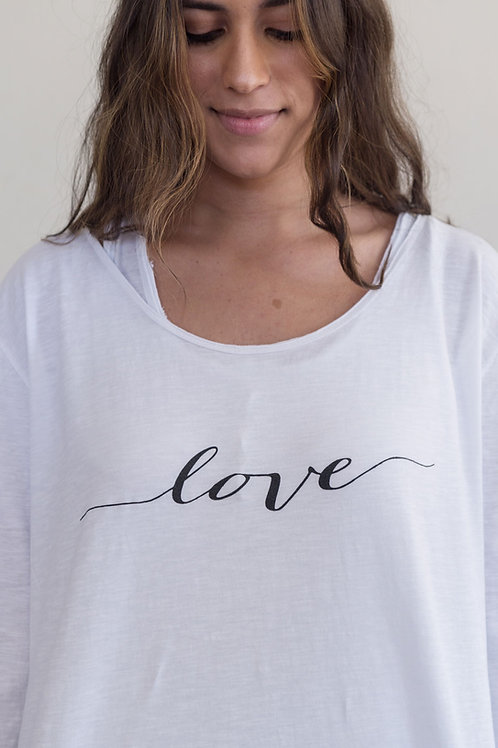 LOVE - LONG SLEEVED TOP