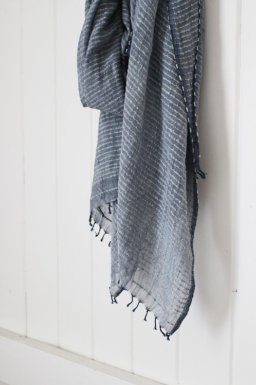 Signature Scarf - Denim
