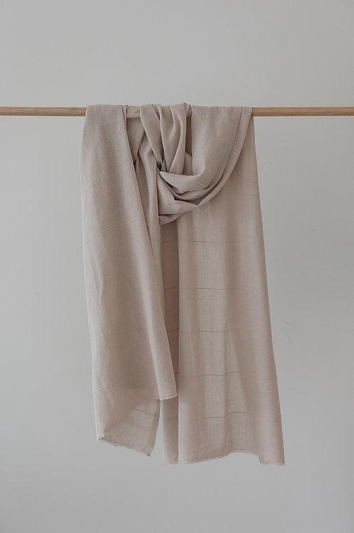 Soft Cotton Wrap - Stone