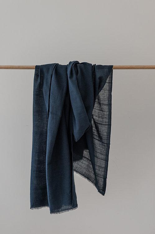 Soft Cotton Wrap - Indigo