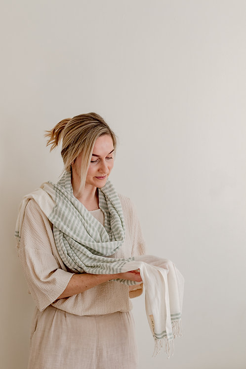 LIGHT WEIGHT SCARF - FOREST