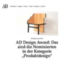AD Germany DESIGN AWARD