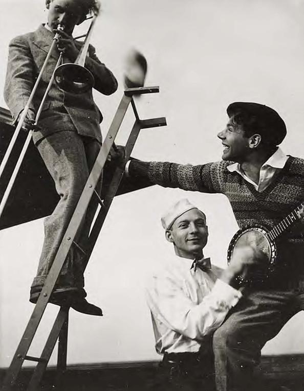 Bauhaus Band | T. Lux Feininger | 1928