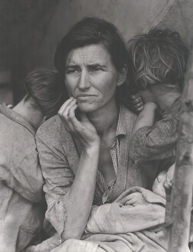 移民母亲 | 多萝西娅·兰格 | 1936