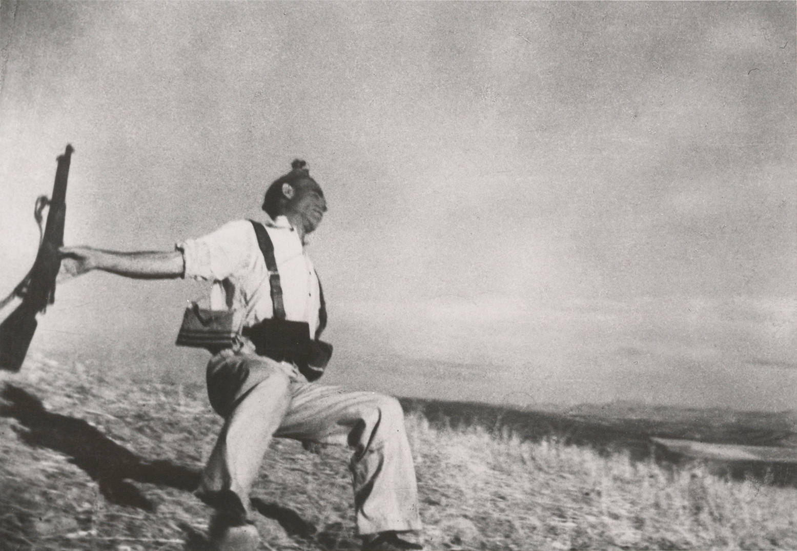 Death of a Loyalist Soldier | Robert Capa | 1936