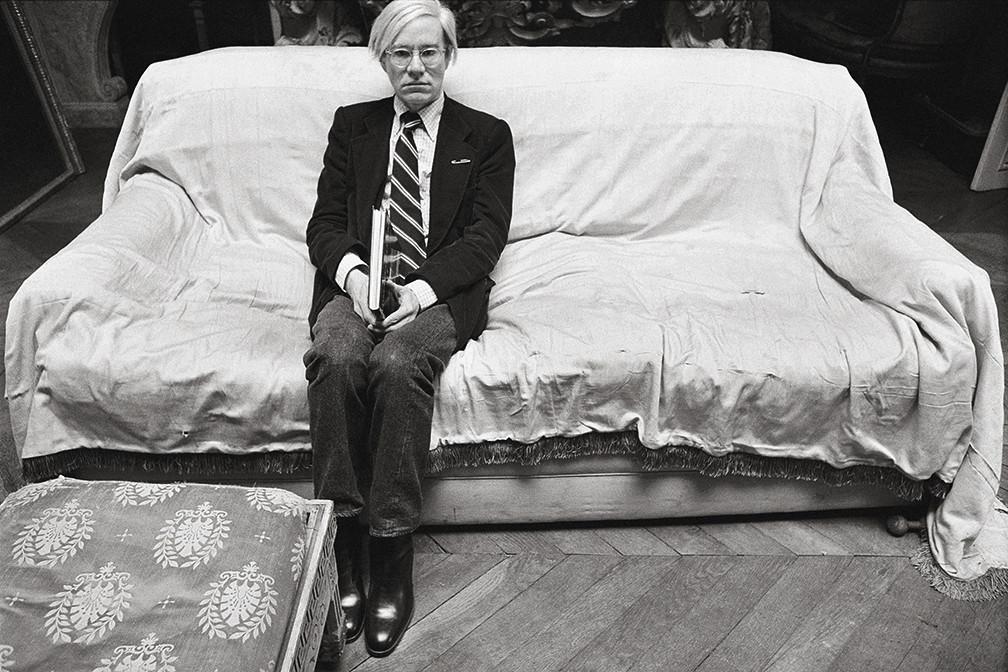 Andy Warhol   Brigitte Lacombe   1977