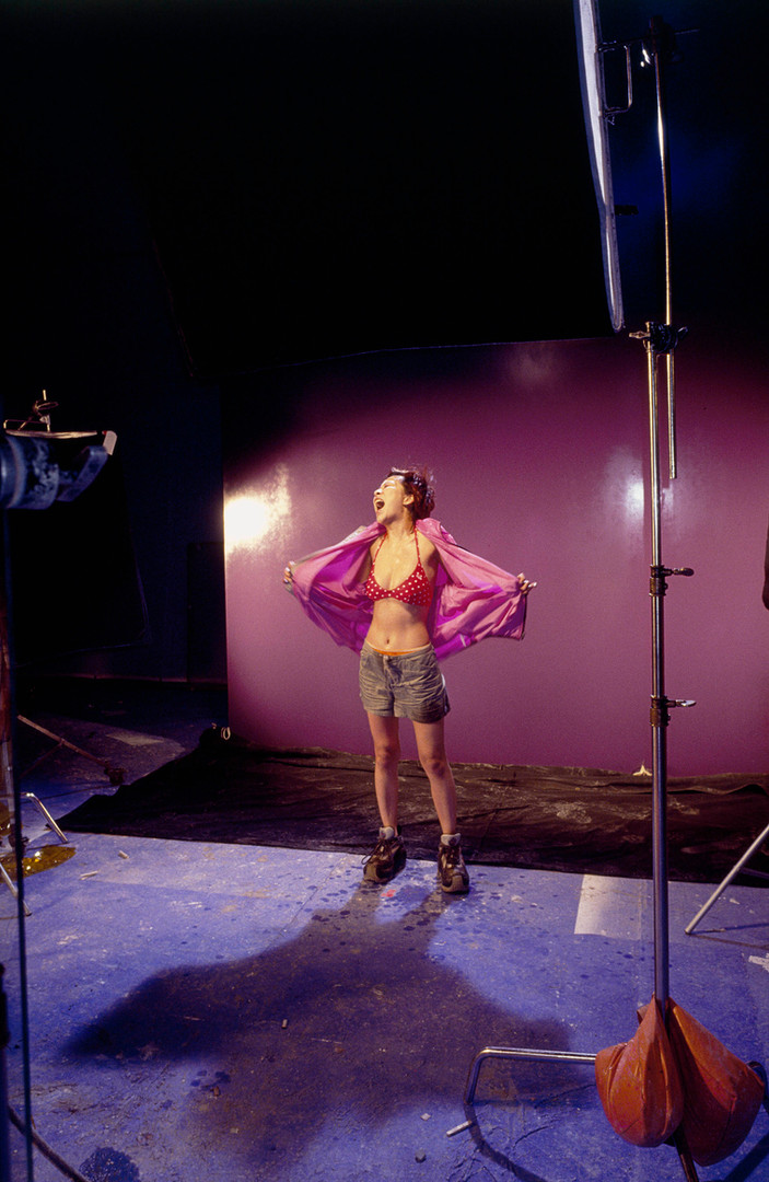 Tanya Ng, still from Jacky Cheung's music video Freaking Hot | Wing Shya | 2001