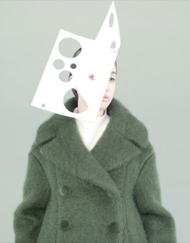 胶纸。《银座杂志》(模特:Kouka Webb)| 张仁雅 | 2013