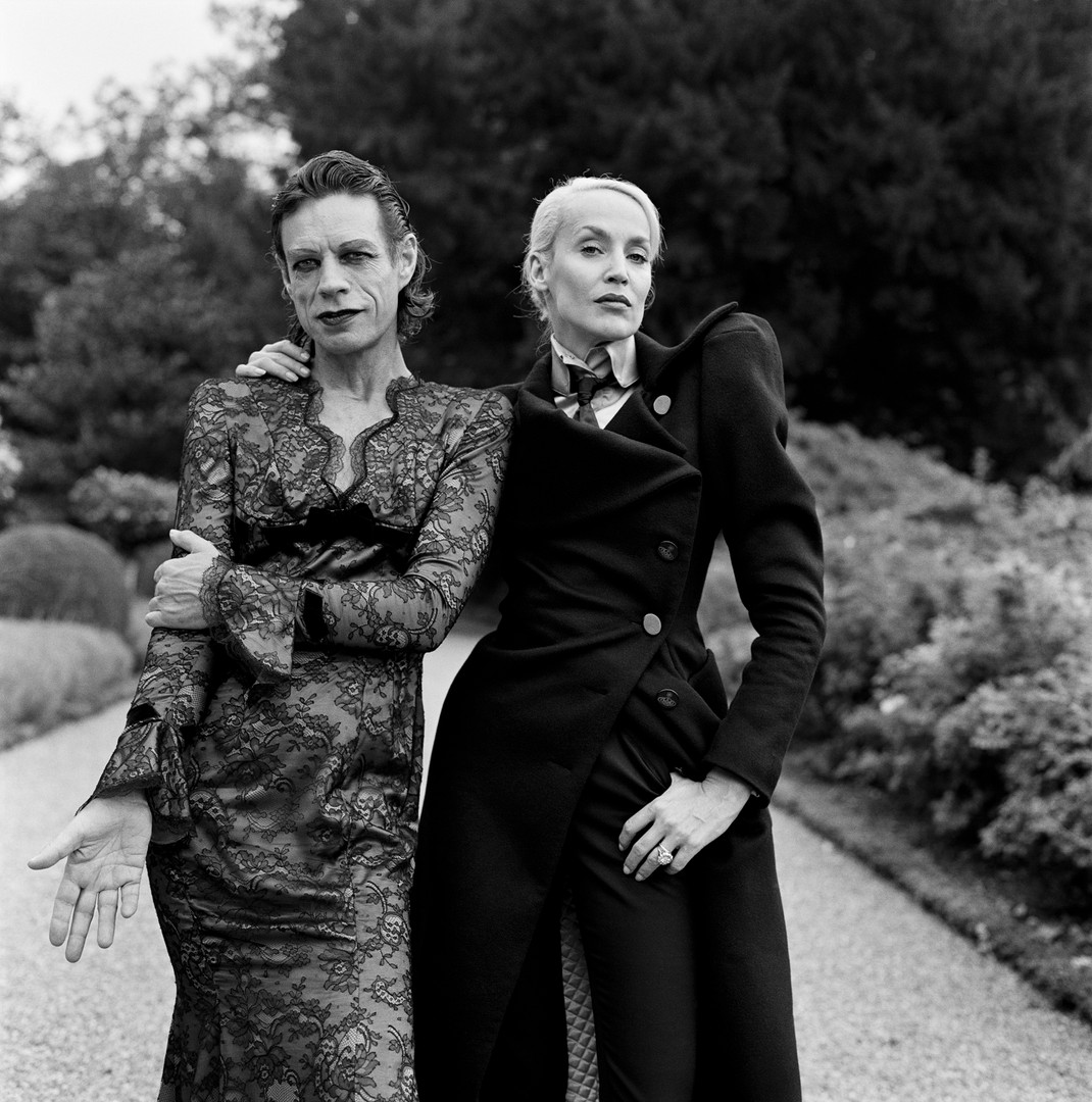 Mick Jagger and Jerry Hall   Brigitte Lacombe   1996