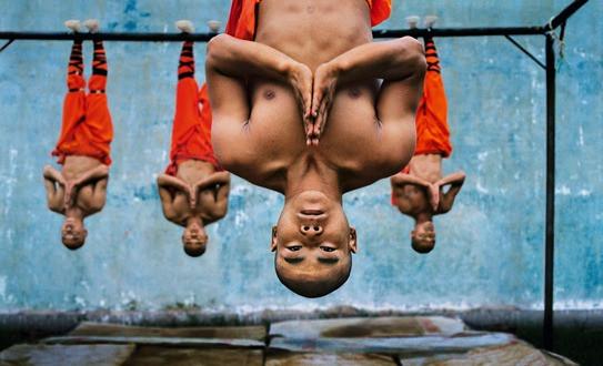 Shaolin monks training, Zhengzhou, China | Steve McCurry | 2004