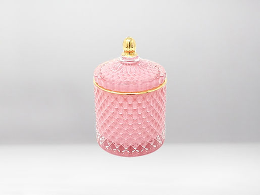 Royal Pink Bio Duftkerze