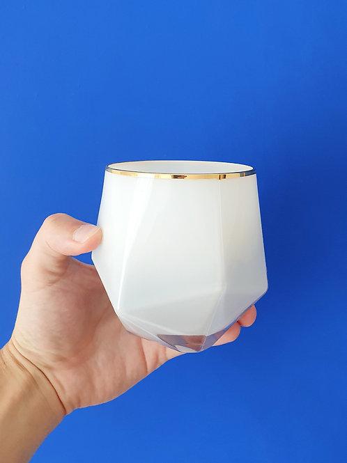 Artiste Blanc Bio Kerze by SPIRIT spezielle kerze kaufen in der schweiz bern zürich design luzern online weiss geo