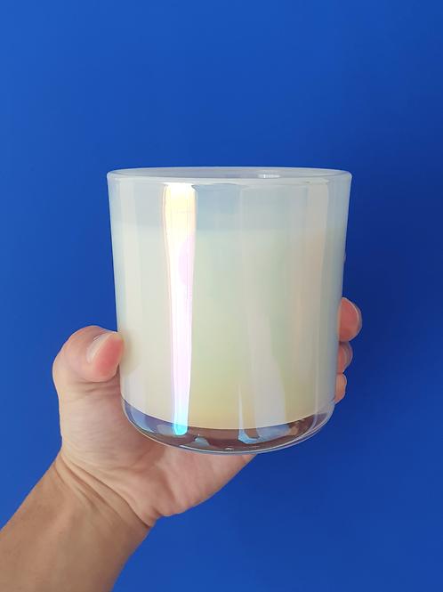 Grande Blanc Biokerze by ARTISAN Collection weisse glänzige design kerze kaufen gratis lieferung