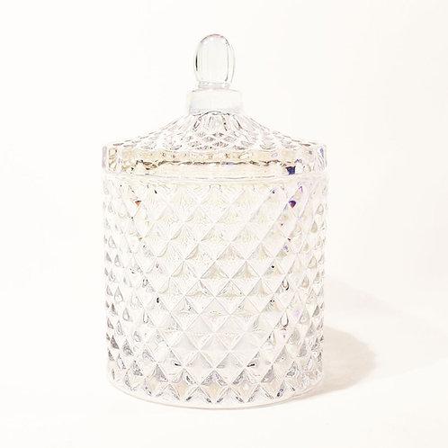 Karuselo Perlmut Bio Kerze by EQUINOX glaskerze pearl kaufen schweiz sojawachs luxus geschenk