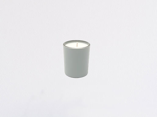 Colors Mini Grau Bio Kerze