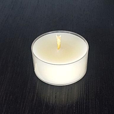 Teelichter Bienenwachs Weiss 6h (EU)