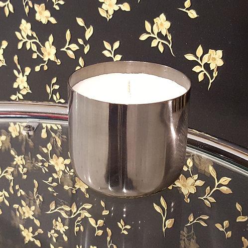 Metallum Silber Dunkel+Glatt - Bio Kerze kaufen schweiz