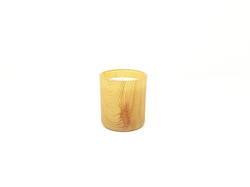 Burkea Biokerze by ARTISAN Collection holz kerze kaufen in der schweiz muster korn bio beige