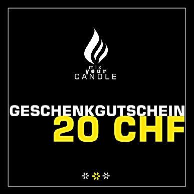 20 CHF Geschenkgutschein