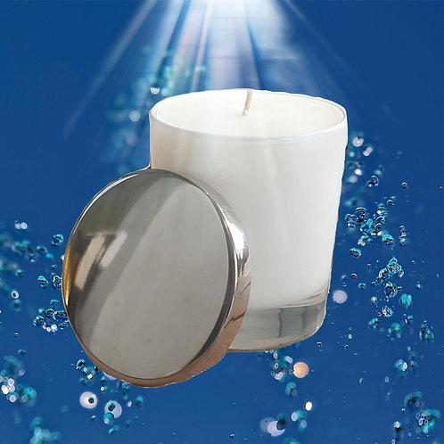Wasser - Aromatherapie Bio Duftkerze