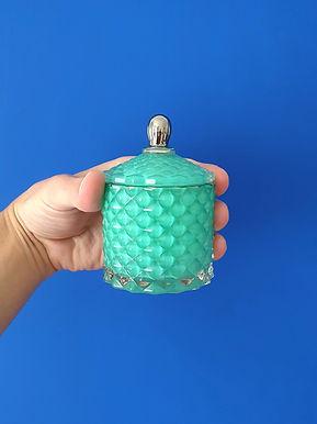 Mini Royal Smaragd Bio Kerze