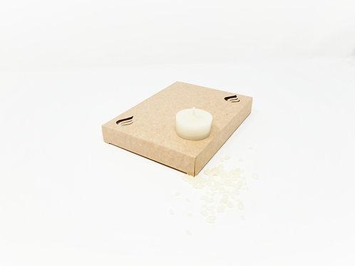 Ersatz Teelichter aus Bienenwachs Weiss 6h (EU) 12 Stück box kaufen schweiz