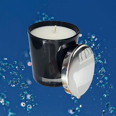 Wasser Black- Aromatherapie Bio Duftkerze