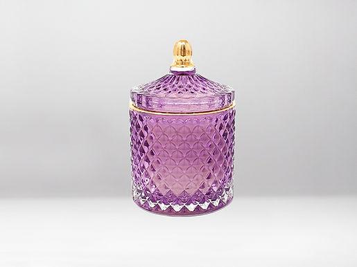 Royal Violett Bio Duftkerze