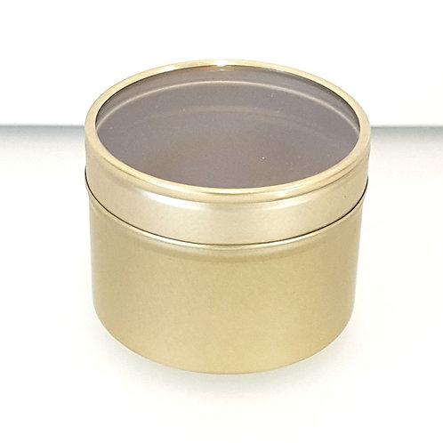 Kerzendose / Gold / 2 teilig metalldose kerzen selber machen herstellen kaufen schweiz goldig