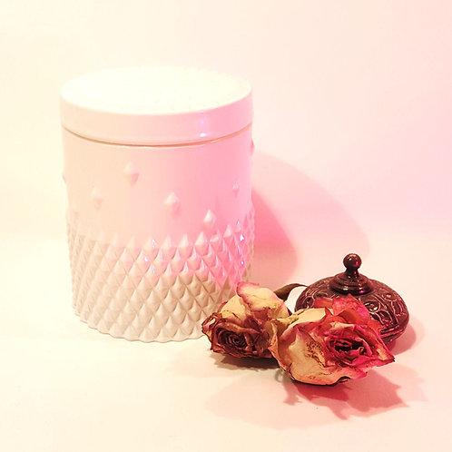 Iconic white Bio Sojawachs Vegan Design Kerze by EQUINOX weisses glass kerzen kaufen schweiz luxus hochwertig