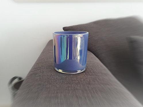 Grande Blu Biokerze by ARTISAN Collection blaue perlmut kerze kaufen schweiz online shop günstig