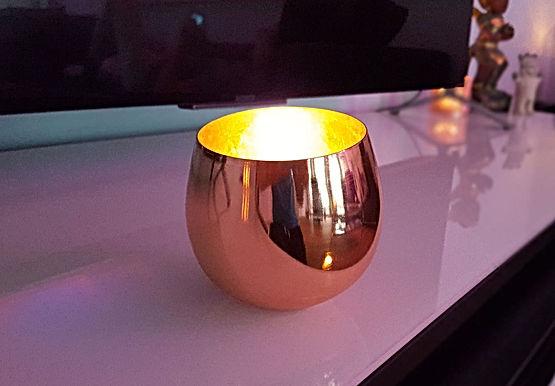 Aulona Eisen Design Bio Kerze SPIRIT COLLECTION